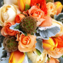130x130_sq_1397663512174-orange-and-cream-roses-yellowish-red-tulips-scabio