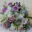 130x130 sq 1397669719944 garden bouquet of lavenders and white