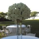 130x130 sq 1421344829080 white rose in tall square vase