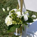 130x130 sq 1469640531061 chair deco white and green hydrangea and lisianthu