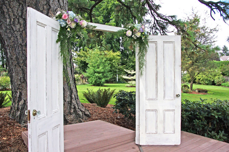 Romantic Rustic Shabby Chic Vintage Altar Arch