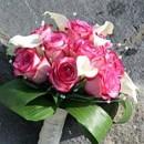 130x130 sq 1390612115671 bb0689 elegant rose and mini calla lily bouque