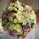 130x130 sq 1390864310493 bb0701 romantic white lavender and tiffany blue br