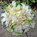 130x130 sq 1393679923982 bb0294 white rose hydrangea freesia and gardenia b