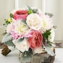 130x130 sq 1393681081102 bb0900 garden rose and dahlia brides bouque