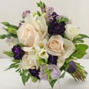 130x130 sq 1421033506724 bb0913 lavender purple and whites bridesmaids bouq