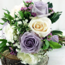 130x130 sq 1421033533536 bb0931 vintage garden chic lavender and white bouq