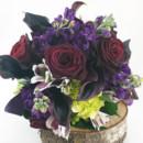 130x130 sq 1421033550526 bb0935 dark wine purple and green edgy chic bouque