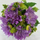 130x130 sq 1421033621169 bb0967 lavender dahlia bridesmaids wedding bouquet