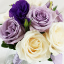 130x130 sq 1421033687231 bb0978 lavender purple and white wedding bouquet