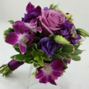 130x130 sq 1421033729312 bb1004 romantic plum and purple bridesmaids bouque