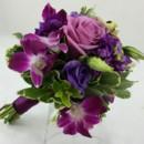 130x130 sq 1421033729312 bb1004 romantic plum and purple bridesmaids bouque
