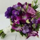 130x130 sq 1421033737117 bb1005 romantic plum and purple brides bouquet