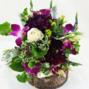 130x130 sq 1421033746604 organic natural purple and green brides bouquet