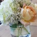 130x130 sq 1459572691814 rf1244 garden rose and hydrangea centerpiece