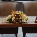 130x130 sq 1459572695747 rf1246 gold and white head table centerpiece