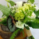 130x130 sq 1459573118641 bb1130 white and green woodland bouquet