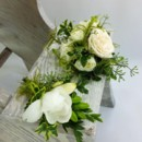 130x130 sq 1459573124244 bf0701 natural white woodland corsage and boutonni