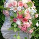 130x130 sq 1459573967815 bb0017 periwinkle and peach bridal cascade