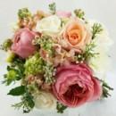130x130 sq 1459574999438 bb0983 coral and peach garden wedding bouquet