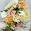 130x130 sq 1459575023513 bb1133 blush and peach bridal bouquet 1