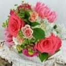 130x130 sq 1459575029268 bb1156 bright pink wedding bouquet