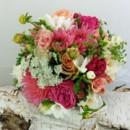 130x130 sq 1459575034058 bb1157 coral pink wedding bouquet