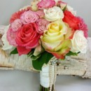 130x130 sq 1459575038562 guava punch and pink rose bouquet