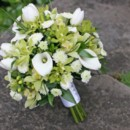 130x130 sq 1459575373754 bb0485 green and white orchid and lily bouquet