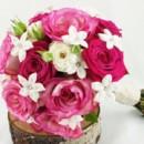 130x130 sq 1459654647717 bb0987 pink rose and white stephanotis wedding bou