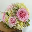 130x130 sq 1459654672690 bb1056 pink garden rose wedding bouquet