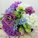 130x130 sq 1459654942186 bb1144 wisteria blue and white bridesmaids bouquet