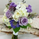 130x130 sq 1459654965839 bb1159 lavender and white bridal bouquet