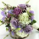 130x130 sq 1459655338315 bb1049 brides lavender and white wedding bouquet