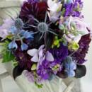 130x130 sq 1459655353677 bb1123 blue and purple brides bouquet