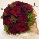 130x130 sq 1459655637121 bb0088 round merlot rose wedding bouquet