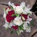 130x130 sq 1459655643041 bb0242 garden red and white wedding bouquet