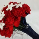 130x130 sq 1459655652046 bb0949 red carnations and white stephanotis brides