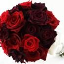 130x130 sq 1459655665994 bb0956 elegant red rose and rhinestone brides bouq