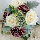 130x130 sq 1459655674622 bb1150 vintage blues and red hand tied bouquet