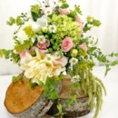 130x130 sq 1459655790473 bb0882 soft peach and green garden bouquet