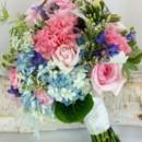 130x130 sq 1459655809682 bb1152 pink and blue brides garden bouquet