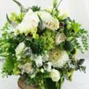 130x130 sq 1459656045309 bb1006 organic green and white brides bouquet