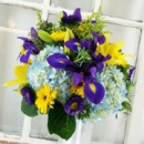 130x130 sq 1459656177319 bb0952 royal purple blue and yellow wedding flower