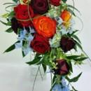 130x130 sq 1459656192235 bb1107 modern cascading bridal bouquet