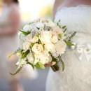 130x130 sq 1459656599244 bb0383 vintage romantic white rose bridal bouquet