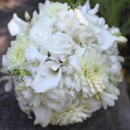 130x130 sq 1459656603721 bb0437 white dahlia rose and orchid bridal bouquet