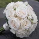 130x130 sq 1459656620463 bb0545 ivory rose and rhinestone bridal bouquet