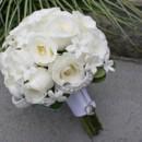 130x130 sq 1459656625006 bb0566 white rose and stephanotis brides bouquet