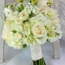 130x130 sq 1459656670571 bb1116 elegant white brides bouquet